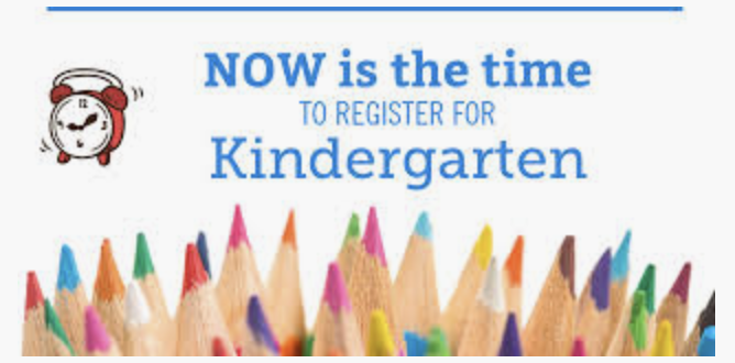 Fall 2020 Kindergarten Registration