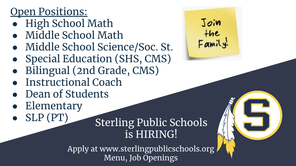 SPS is Hiring!