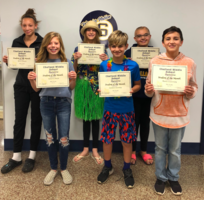 September Student of the Month Winners!